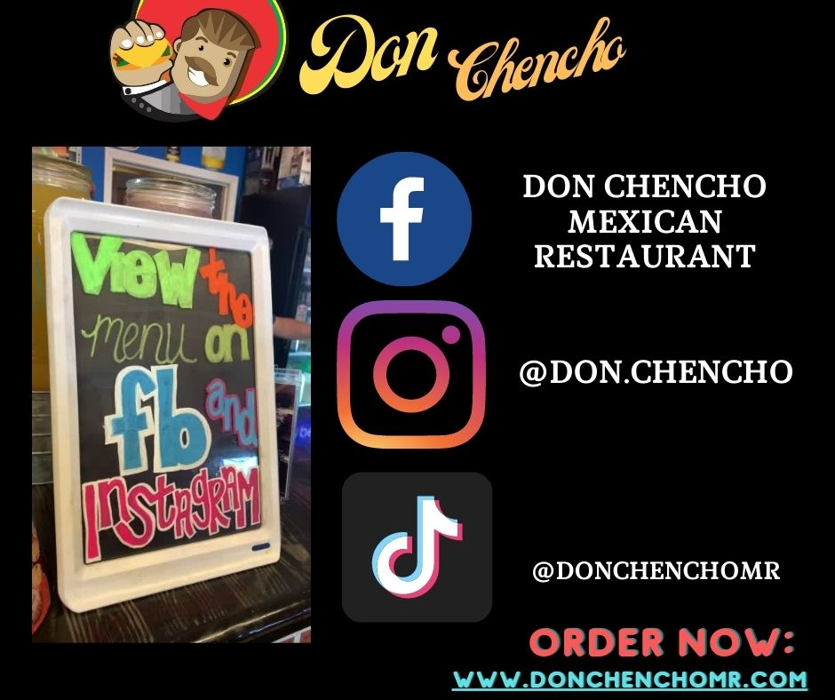 Keep up to date on Don Chencho's news by following us on all of our social media accounts!  Try our New and Improved online ordering at https://t.co/5Ux4Jt8O5t today! 3361 Fehling Rd., Granite City, IL 🌮😋🌯 #Mexicanfood #margaritas #fajitas #tacos #rellenos #delivery https://t.co/Xwgt2hCwFc