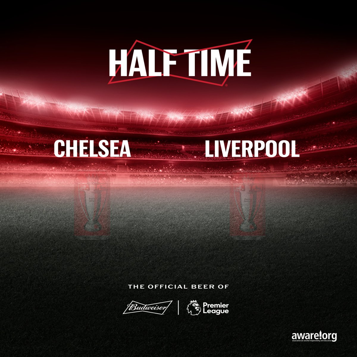 No goals at Half Time, but Liverpool have the man advantage, what time will we see the first goal in this match? Reply with your prediction. #SmoothForNaijaKings #BeAKing #CHELIV https://t.co/n6SwluFUGH