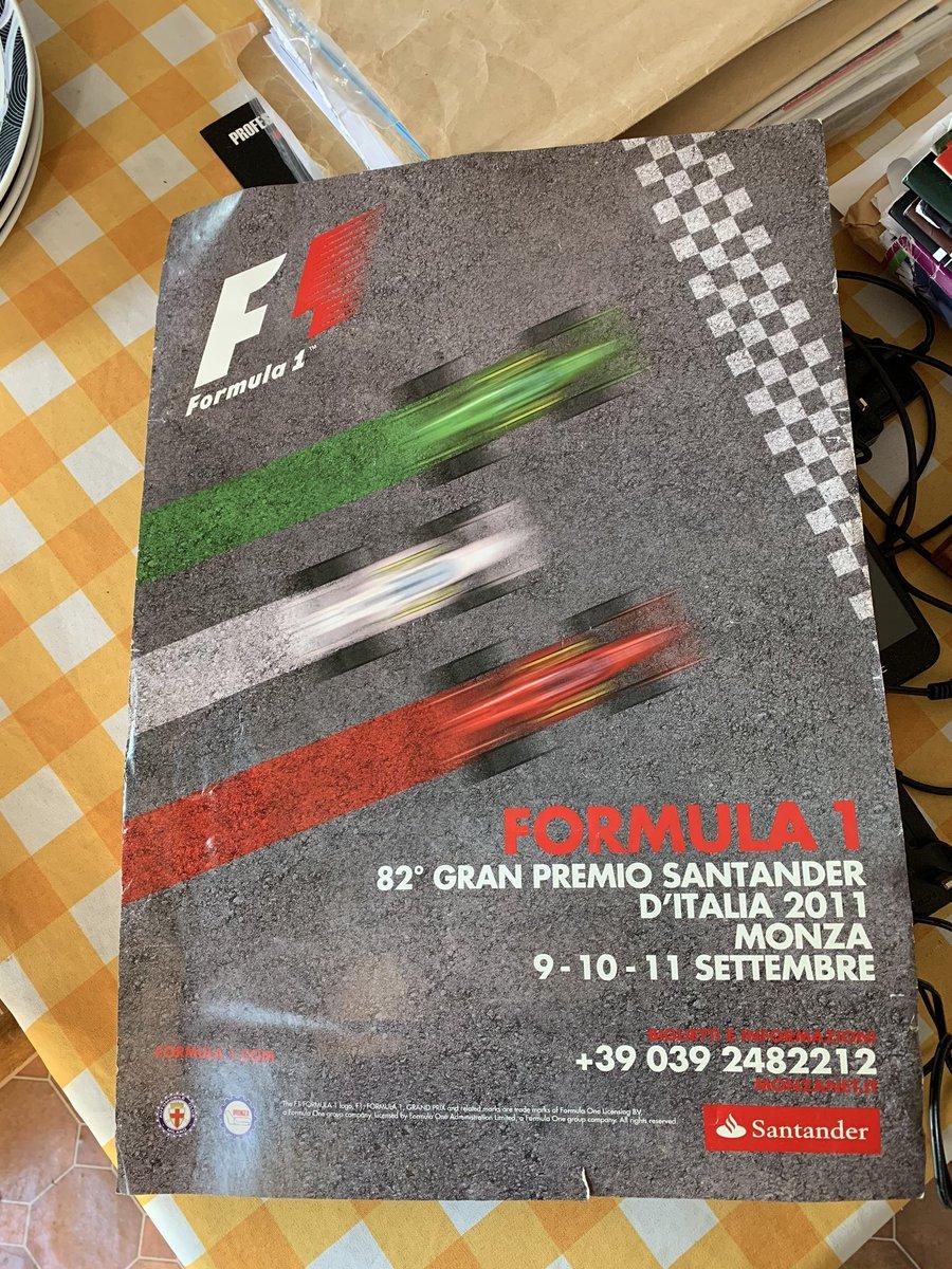 My mum found the poster from my first ever race! #F1 #Mclaren #MonzaGP #MonzaGP2011 #ItalianGP #nowhere😂 https://t.co/gb9vjIz87n