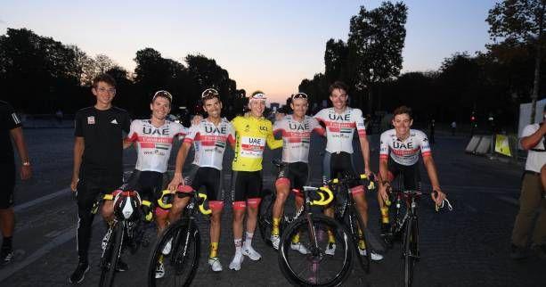 Info - Tour de France - Tour de France : UAE-Team Emirates et Jumbo-Visma dominent le classement des gains - https://t.co/Mek6TxwVAL https://t.co/VqOdP1jbsA