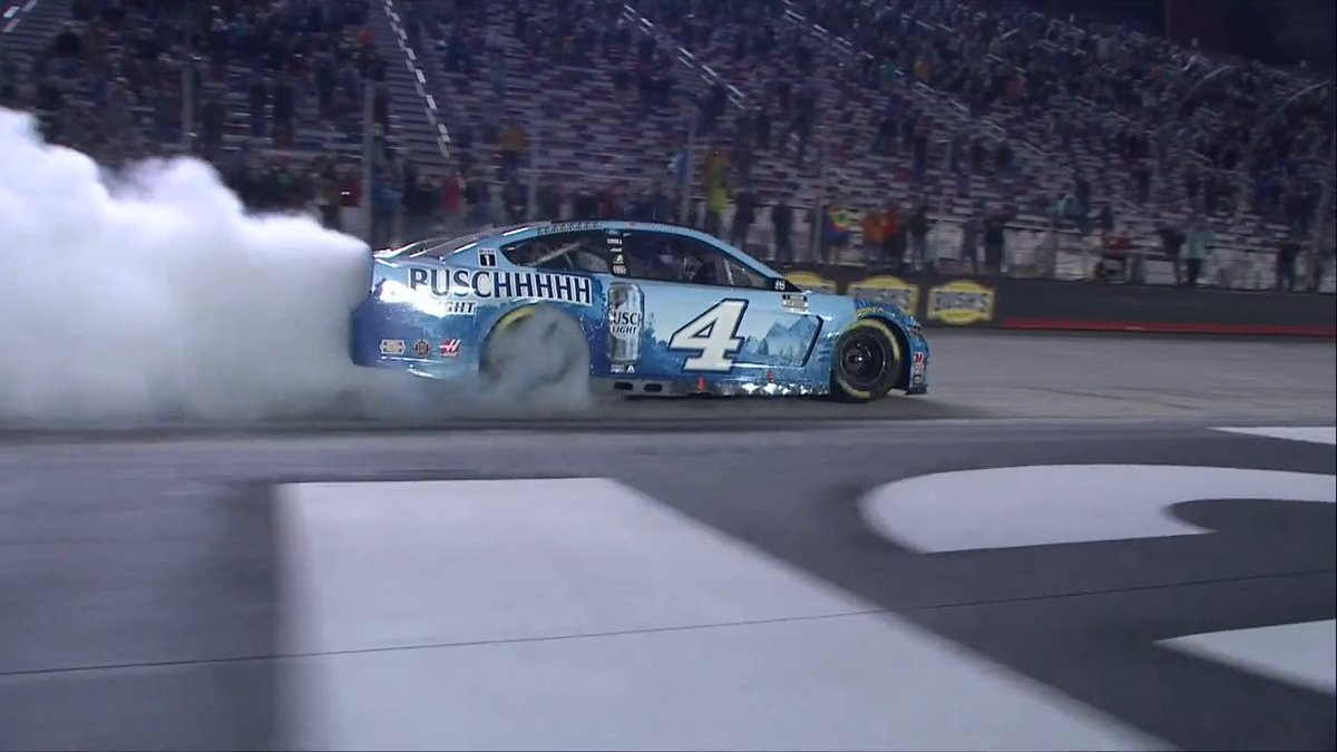 Hes been celebrating a lot this year ... but was this @KevinHarvicks best burnout of 2020?