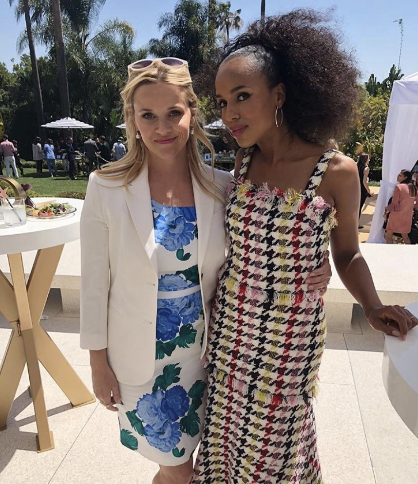 Forming an unbelievably fierce friendship with #Emmy nominations to boot. What, like it's hard? #2 goes to the power players—and #LittleFiresEverywhere stars—Reese Witherspoon & Kerry Washington.