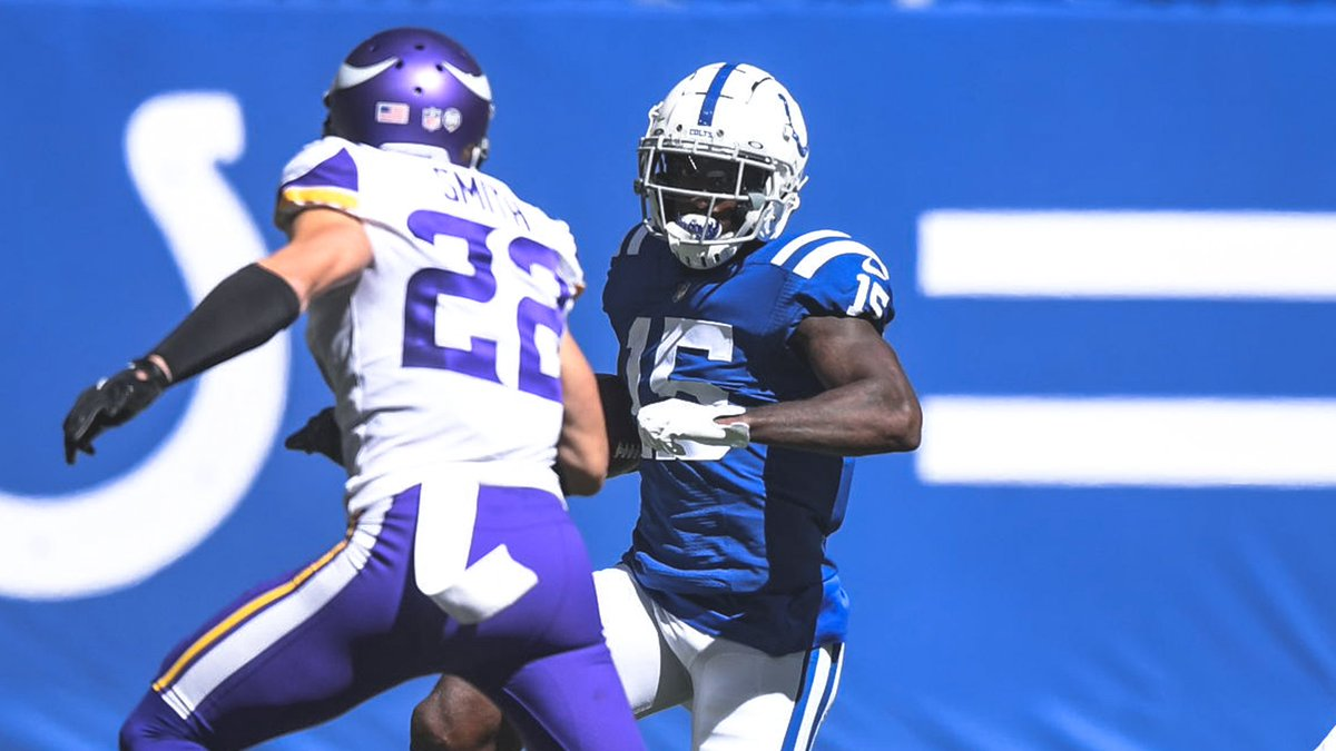 #MINvsIND INJURY UPDATE: WR Parris Campbell (knee) is questionable to return. https://t.co/SXj0QD3Vi1