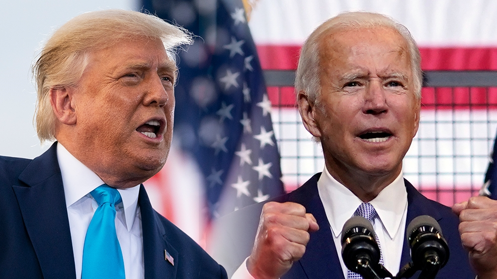 Trump aims for an upset over Biden in Minnesota: The president and Democratic challenger will both campaign on the same day in the state where George Floyd was killed. https://t.co/fMdnpcQFed https://t.co/4IJXE2oxOQ