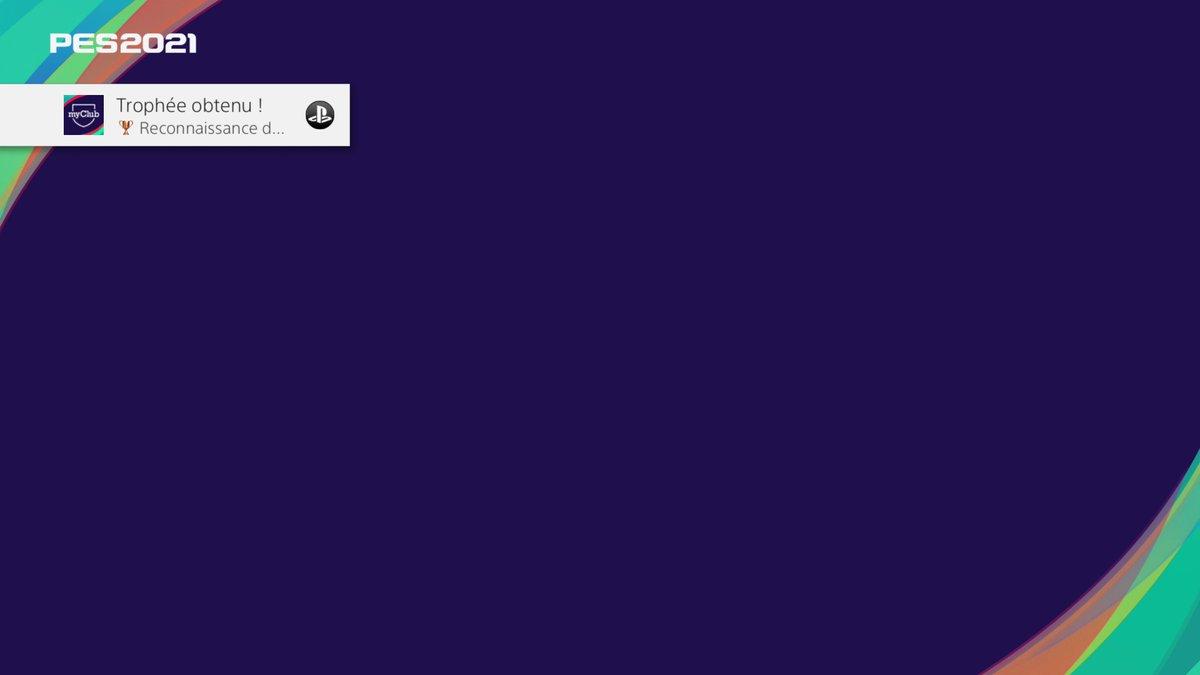 eFootball PES 2021 SEASON UPDATE Reconnaissance de classement (Bronze) Louanges offertes pour avoir joué 1 #PS4share https://t.co/lJN2ghTLlM