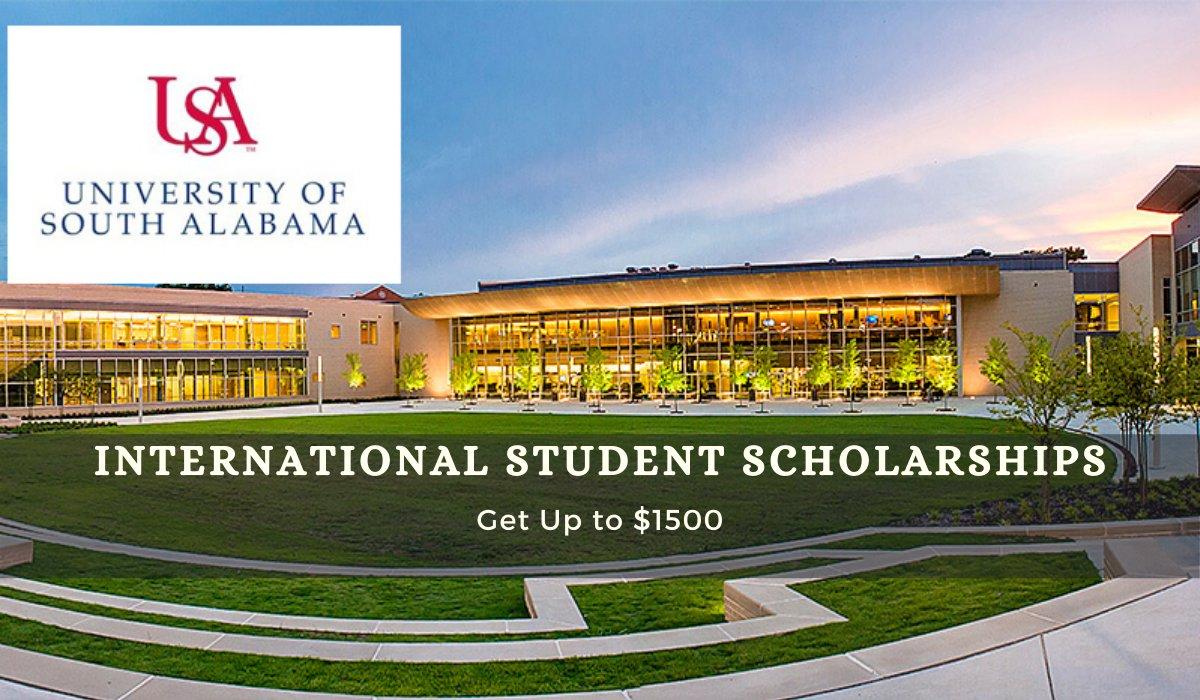 #University of #South #Alabama ##International #Student #Scholarships in ##USA - https://t.co/QkBtwXq1ur #scholarships #scholarship #college #education #Education #InternationalStudentScholarships #ScholarshipsInUsa #School #StudentScholarships #Degree #Undergraduate https://t.co/JeFeuYvdLB