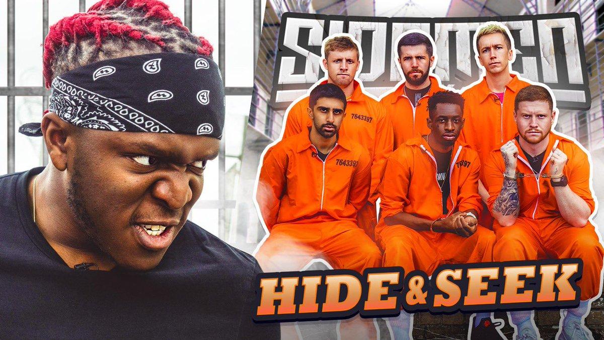 New #SidemenSunday video out now! SIDEMEN HIDE AND SEEK IN A PRISON 🔗: youtu.be/EiSHM7xjRAA