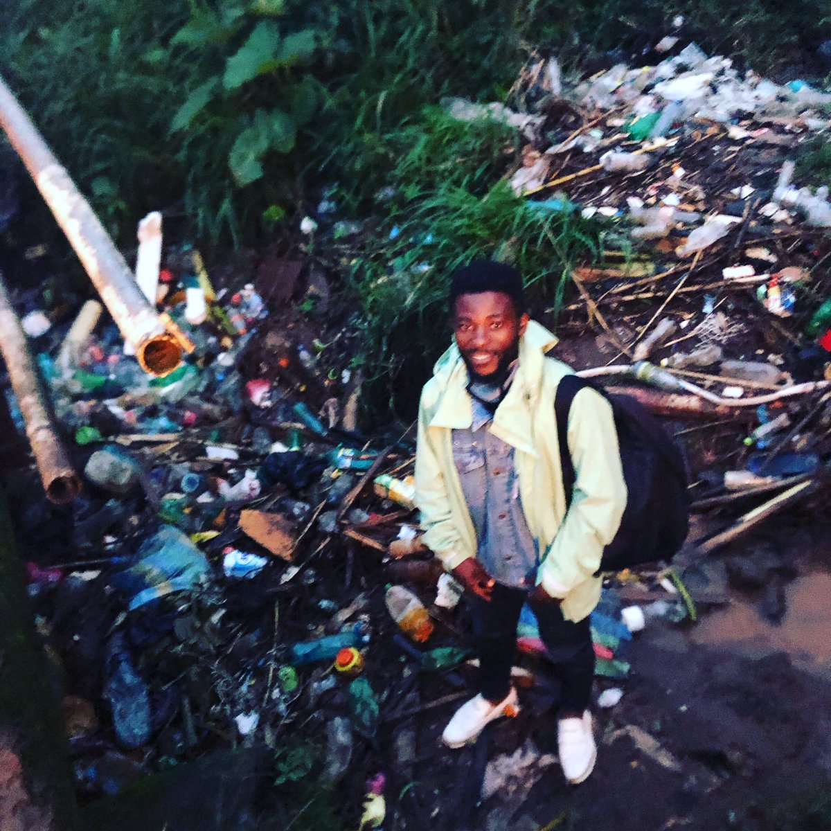 Humanity have disappointed nature badly but it's time to fix my #timeforNature #recyclikecolins @colins_kaiven #sebca https://t.co/JVV33Rlnk7