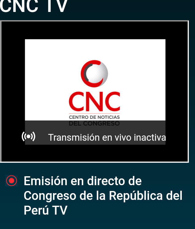 La sesión en la que aprueban el reglamento de candidatos al @TC_Peru está en FB, no en la web @congresoperu  https://t.co/fjEUcIQ0iC https://t.co/e5Sv8SkN57