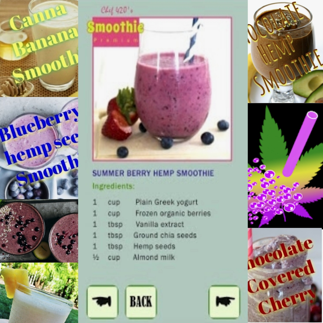 Another FREE App from Chef420 Smoothies,Blueberry, banana, strawberry, and More! Healthy Edible Infusions with Chef420 easy recipes on your android!  >>https://t.co/kuyX3UxmOr  #Chef420 #Edibles #Medibles #CookingWithCannabis #CannabisChef #CannabisRecipes #InfusedRecipes https://t.co/peOFi4BmxP
