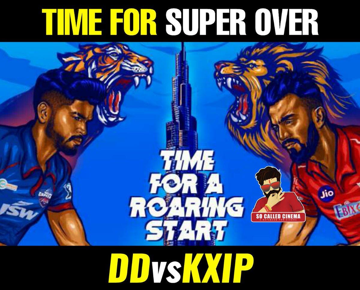 #IPL2020 #DCvsKXIP #DC #KXIP #SoCalledCinema https://t.co/o6kq9Dj6nw