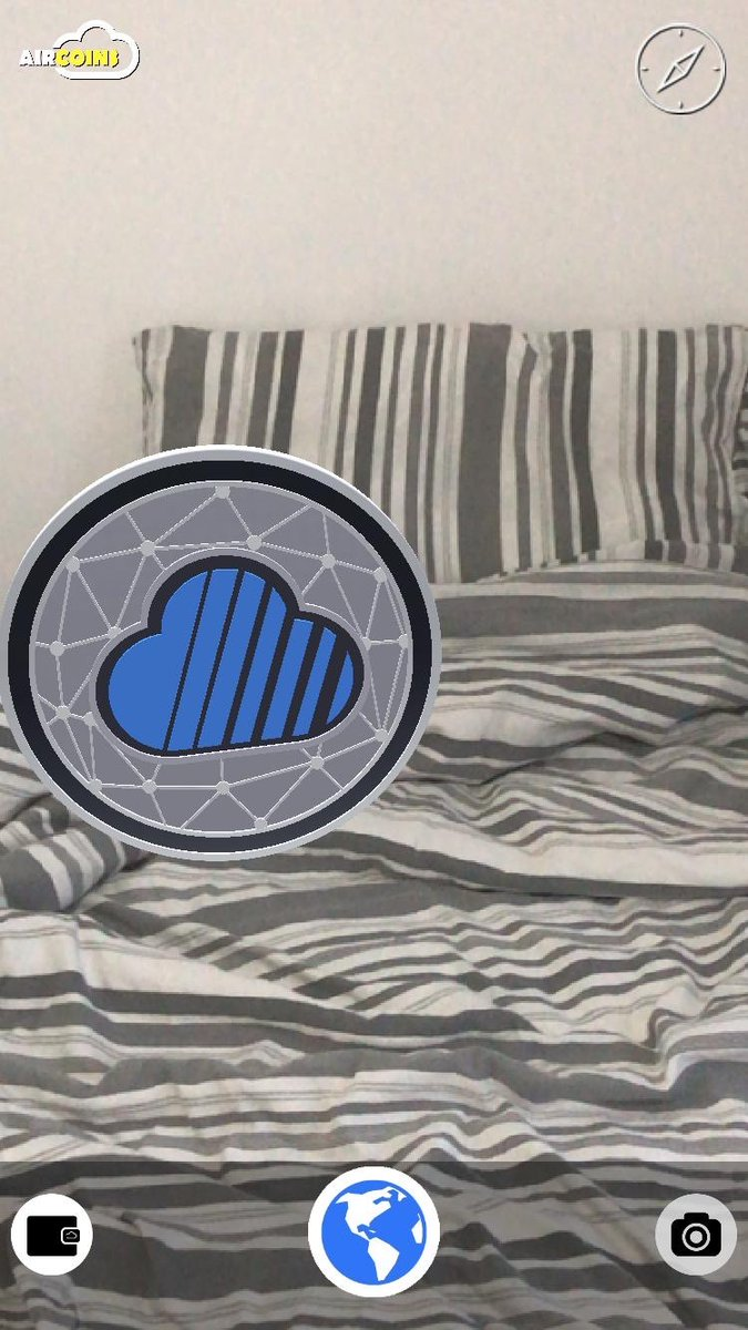 Congratulations on finding your first #Skycoin in @Aircoins_App AR! That's a great thing to find under your pillow. Make sure to share anymore $SKY or $SCH #CoinHours you find!