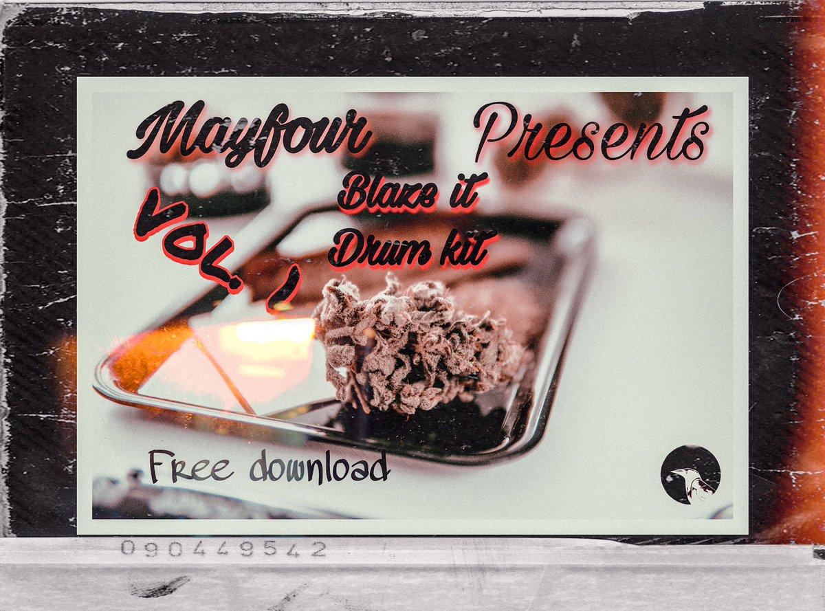 October 4 2020 MAYFOUR Music presents  Blaze it drum kit Vol. 1 Free download  Royalty free! Available for instant download on @BeatStars October 4 10am!  #audio #beatmakers #BeatStars #buyingcontent #free #FreeDownload #drumandbass #samples #samplepack #Producers #SoundDesign https://t.co/wJUKJLc3H2