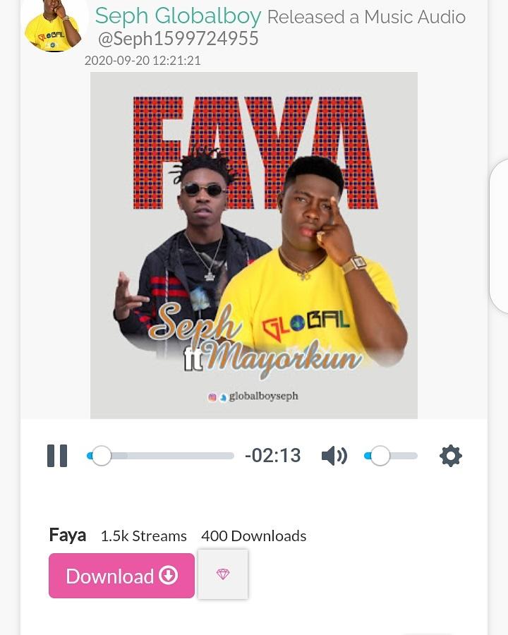 Faya🎧🔥 by @GlobalBoySEPH ft @IamMayorKun now trending on MyVibe 🎧 https://t.co/7SETHWfI6d #faya #myvibes #afrobeats #vibes #myvibe #music #hiphop https://t.co/btHjoCWsyI