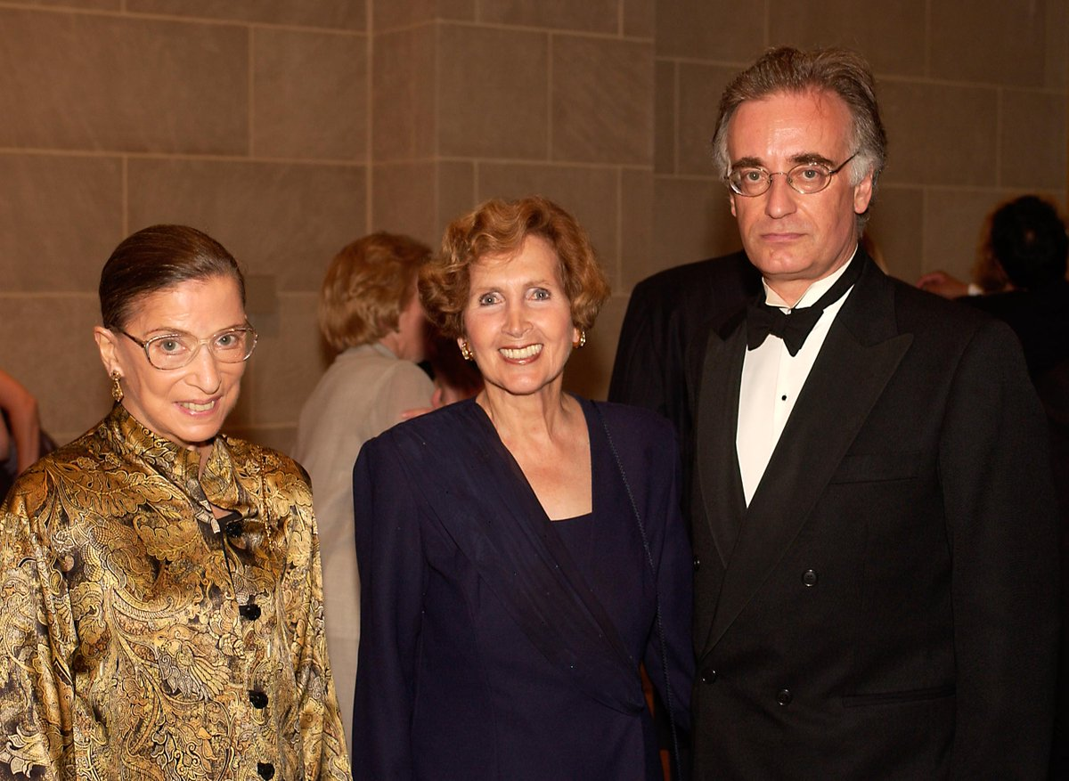 "We remember Supreme Court Justice Ruth Bader Ginsburg. Known for her unwavering pursuit of equal justice under the law, Ginsburg was also a fervent supporter of the arts. She is pictured here with Julian Raby, Director Emeritus at our 2002 opening of ""The Adventures of Hamza."" https://t.co/e1kMNZO6x8"