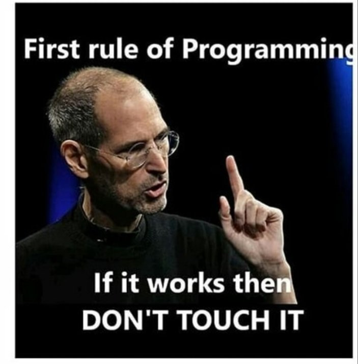 Geeks  advice 😂😂#developer #anonymus  #programming  #Google  #HTML  #javascript #CSS #CodeNewbie  #code  #Android  #webdevelopment #Hacked #hackers #CodingTips #codinglife #Software #programmerlife https://t.co/Tj2e4OTzRE https://t.co/Bgpk3fLBh2