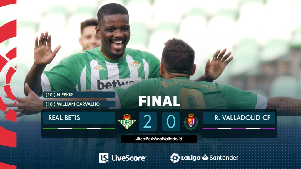 Betis Séville-Real Valladolid
