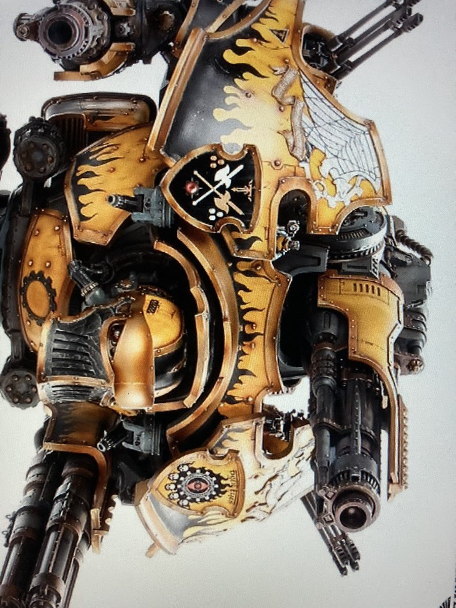 Here's hoping FW will sell this main weapon separately, also the new head is amazing and will make a super new addition to my Warbringer Garry.  #40K #30k #forgeworld #paintingforgeworld #horusheresy #gamesworkshop #GWbanbury #GWAylesbury #painting #gaming #warmongers https://t.co/p9KkH86OB8