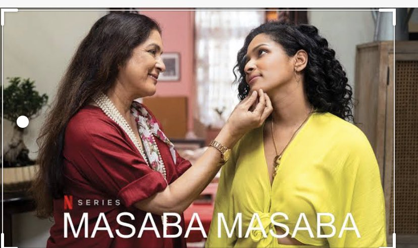HOT MESS: Wanna know how to embrace life's phases and grow with the grill? Tune again into Netflix to watch show #Masabamasaba. 'Hot Mess' just got more endearing. This pretty talented designer girl with the kindest eyes has my heart @MasabaG @Neenagupta001 @NetflixIndia https://t.co/E4gSVBt6AK