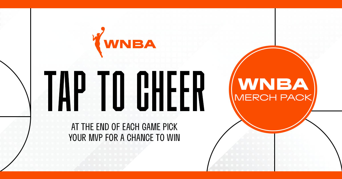 Vote for your MVP of the CON-LVA matchup for a chance to win a #WNBA merch pack! ➡️ wnbavote.votenow.tv/1