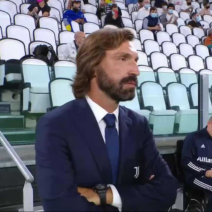 Andrea Pirlo's first match as Juventus manager 🤩 https://t.co/WqinCjrjun