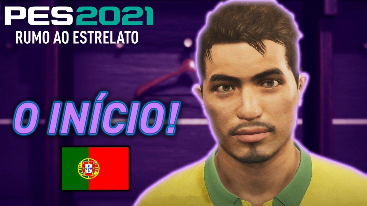 Novo video 🇵🇹 O INÍCIO em PORTUGAL! - RUMO AO ESTRELATO #01 | PES 2021 ❤️  Link: https://t.co/2t5EOQO6IM Link: https://t.co/2t5EOQO6IM https://t.co/BNMhnFnSqQ