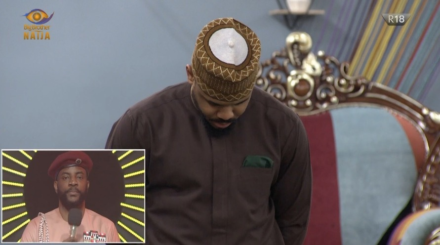 BBNaija: Ozo Has Been Evicted From The Lockdown House