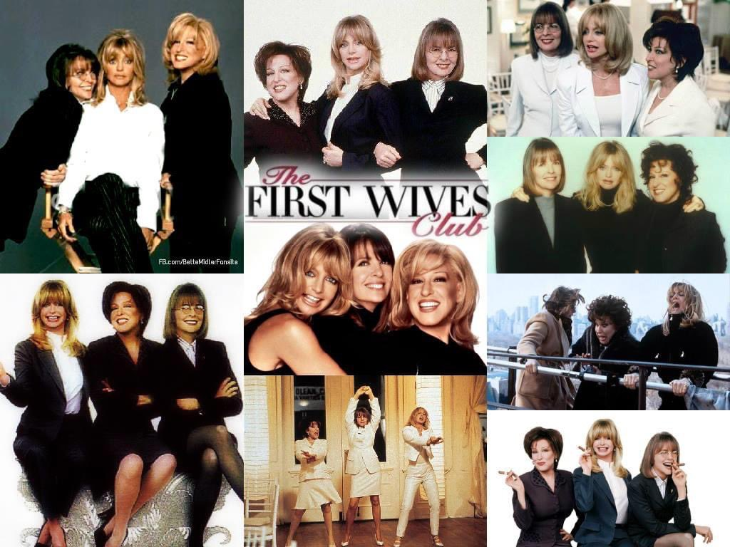 """Happy 24th birthday to the @BetteMidler @goldiehawn and @Diane_Keaton  movie """"The First Wives Club"""" the last scene is the best!  #TheFirstWivesClub https://t.co/RXeIoNqGsH"""