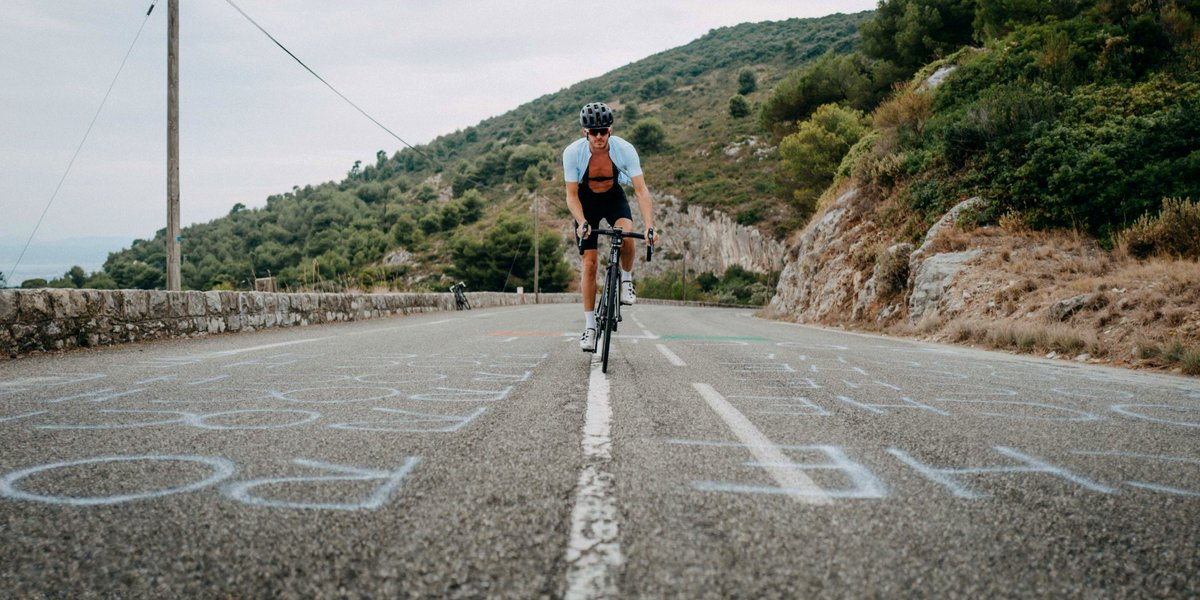 The Tour de France (@LeTour) 2020 has come to an end but the cycling never ends for us!  We look forward to cycling across some of the remaining Tour de France road markings over the next week - starting with Col d'Eze pictured here.  #Leger https://t.co/gl6j93CREm