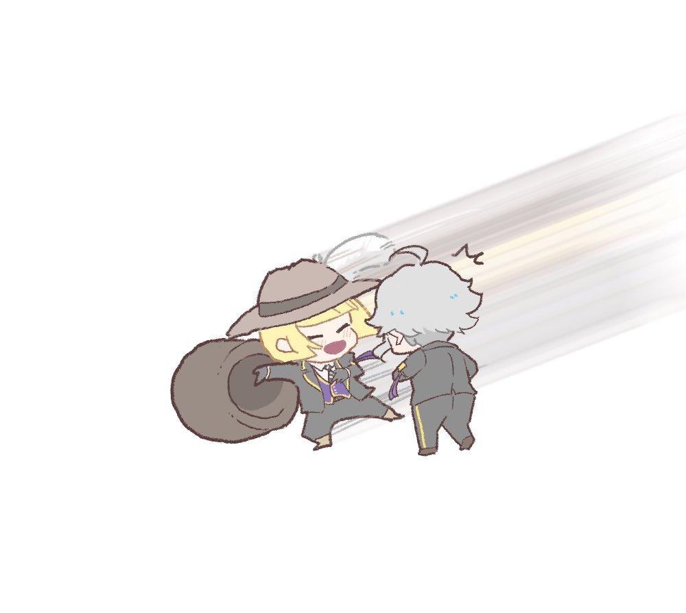📦 「拗ねて蛸壺に戻ろうとしたアズールの元に颯爽と現れ、沢山褒めてくれるルクハン」