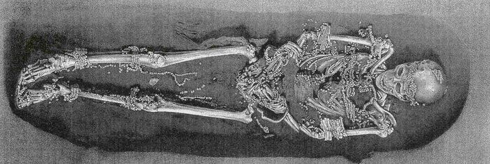 Here's the full burial #IceAgeDeath