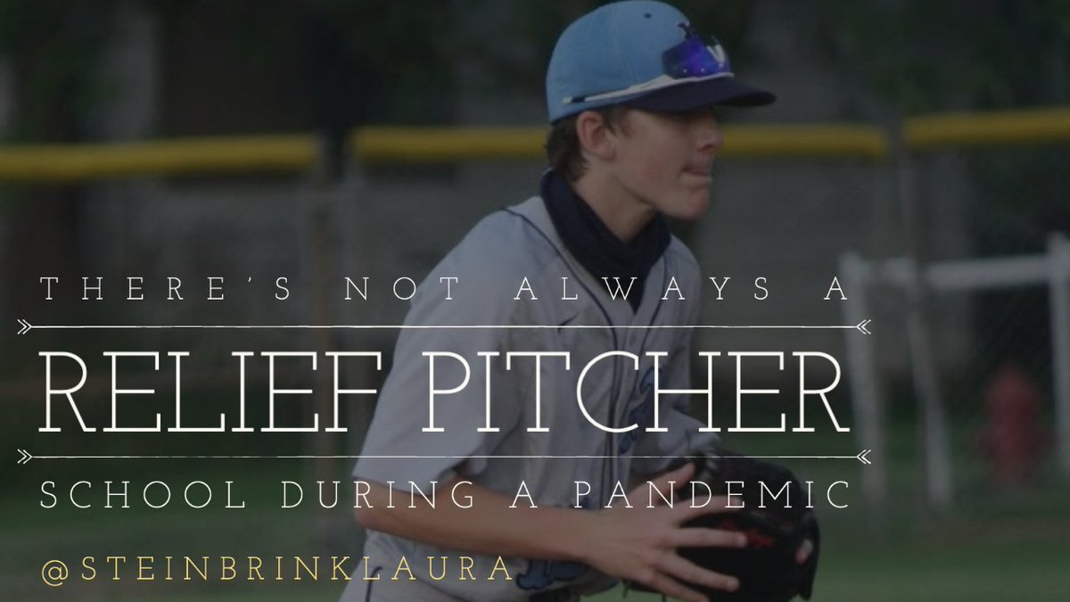 ⚾️ NEW POST: There's Not Always a Relief Pitcher⚾️ We're barely into the 2020-21 school year, & EDUs are working extra hard. This post will, hopefully, inspire you to continue the incredible work you are doing! #pd4uandme  #crazypln #edublogyear #4OCFpln  https://t.co/HiFE3rw5Xk https://t.co/7KnPx4vKoJ