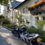 Image for the Tweet beginning: Motorcycle trip through Germany, exploring