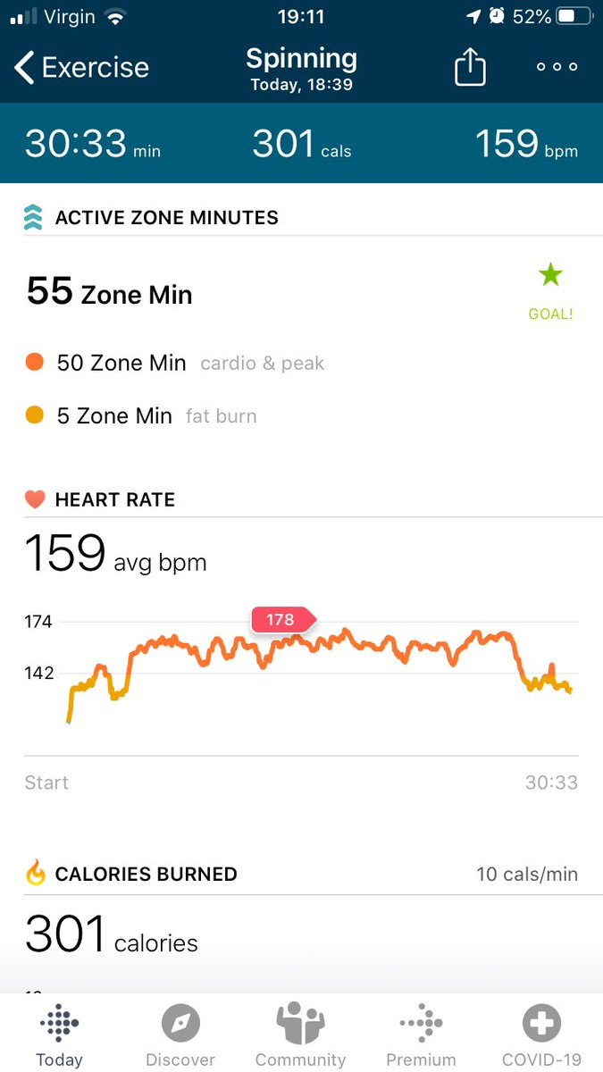 I've had Les Mills on demand for a while now, usually just stick to body combat, but first time trying out the sprint today. Fancied trying something new for #SWfitclub! @Mwharvey First day on placement tomorrow and needed to occupy my anxious mind #socialworkstudent #selfcare https://t.co/aQNEt96zQ5