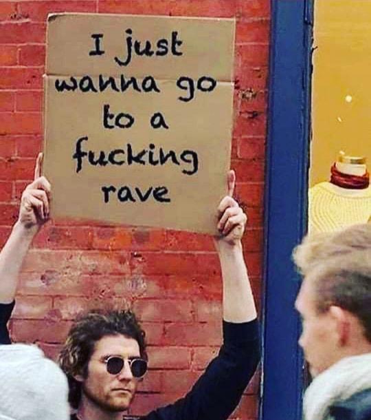 Enough said..! https://t.co/myubAaEzbn  https://t.co/jS6llQcqSf  #rave #boredofcovid #dance #ravenight #dance #ravers #sundayfunday #lockdown2020 #DJ #festivalseason https://t.co/ekeJO2FIci