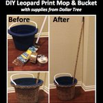 Image for the Tweet beginning: Try this DIY Leopard Print