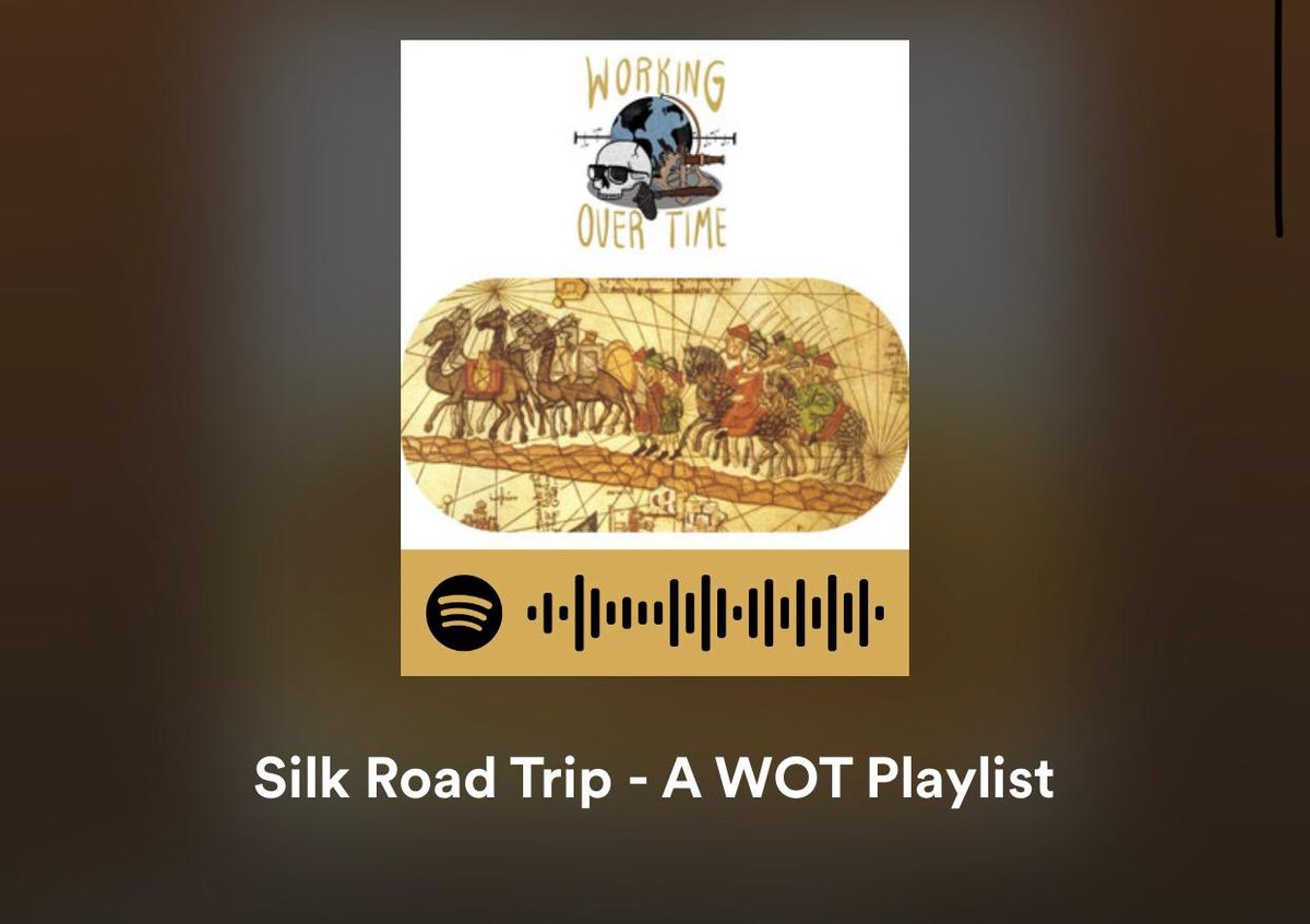 We're off the clock until Season 2 drops on 10/2... But why not catch up on or revisit Season 1? We'll also share bonus content, like this playlist inspired by the Silk Road's cultural mosaic: https://t.co/AMXyRmwa2i Enjoy & tell us your fave tracks! 😄 https://t.co/QclptE567P https://t.co/NWyumSeRx8