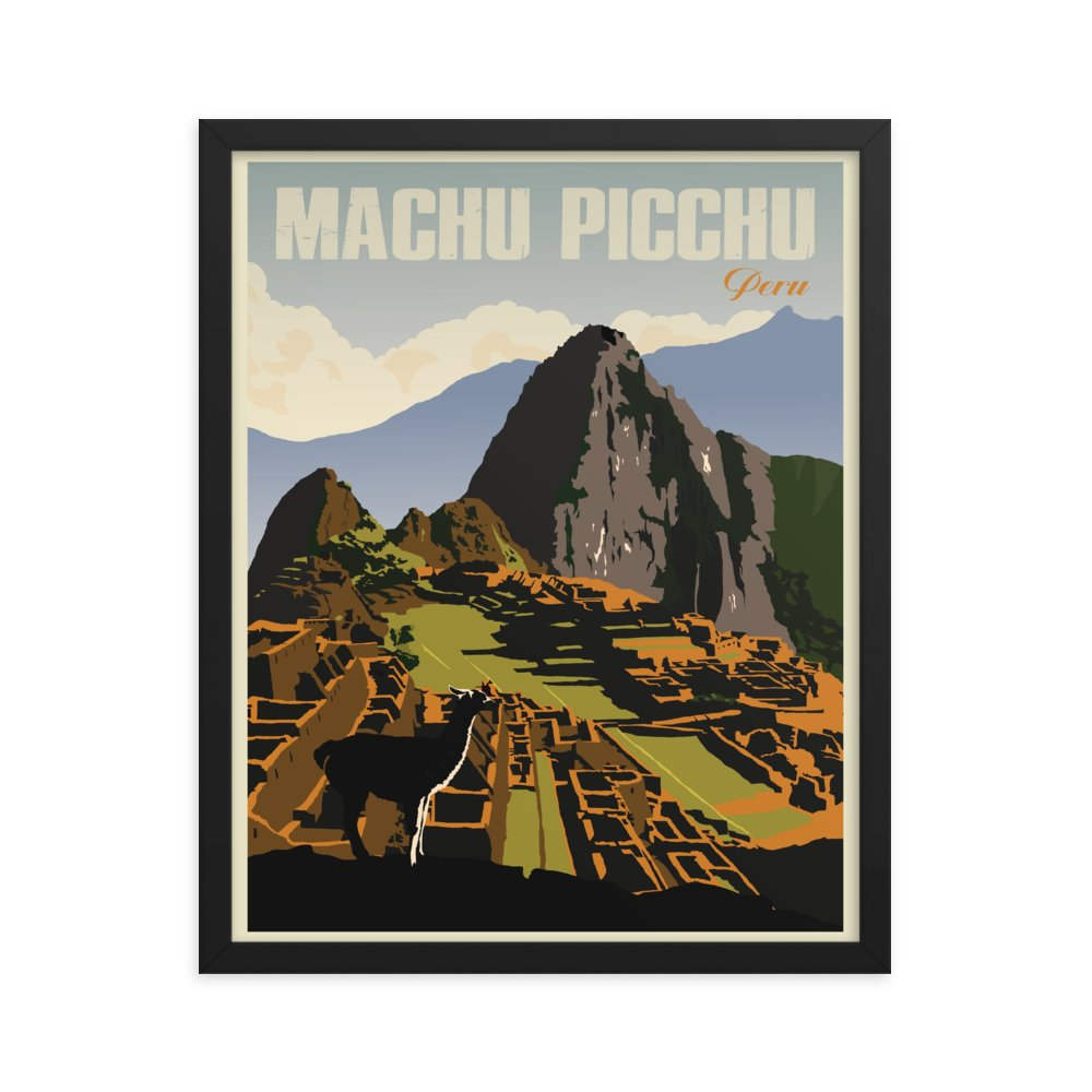 Retweet and Follow to enter our monthly #vintage #travel #poster #giveaway  #Machu Picchu Peru | Vintage Travel Poster | Framed Print   https://t.co/EgPK7sEcJ6   #etsy #vacation https://t.co/jQTBJ0Jhmr