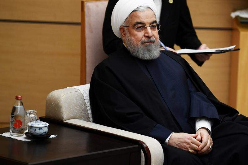 Irans Rouhani says U.S. faces defeat in bid to reimpose U.N. sanctions reut.rs/3ce40Yy