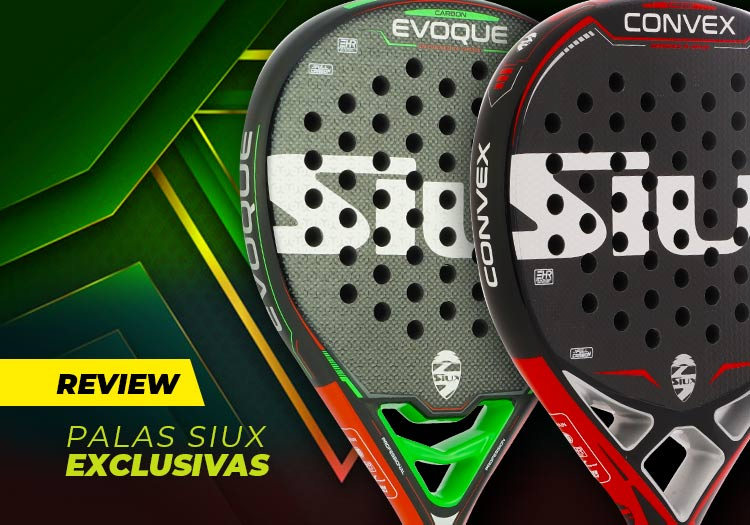 ‼ Descubre las nuevas palas exclusivas @Siuxpadel_es Evoque y Convex 😜👇👇  ▶ https://t.co/7W3v1rBQlc ◀  #padel #Siux #palaspadel https://t.co/kko15EZGmw