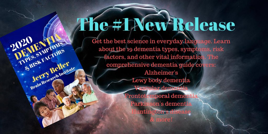 """2020 #DEMENTIA TYPES, SYMPTOMS, & RISK FACTORS https://t.co/qL1MwHnFWH  """"Get the best science in everyday language."""" The book includes all information from 19 books, including:  #alzheimers 