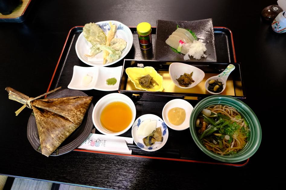 山里で健康和食ランチ 哲多食源の里 祥華!!  #tabelog
