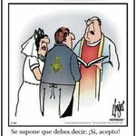 Image for the Tweet beginning: Humor Masónico.