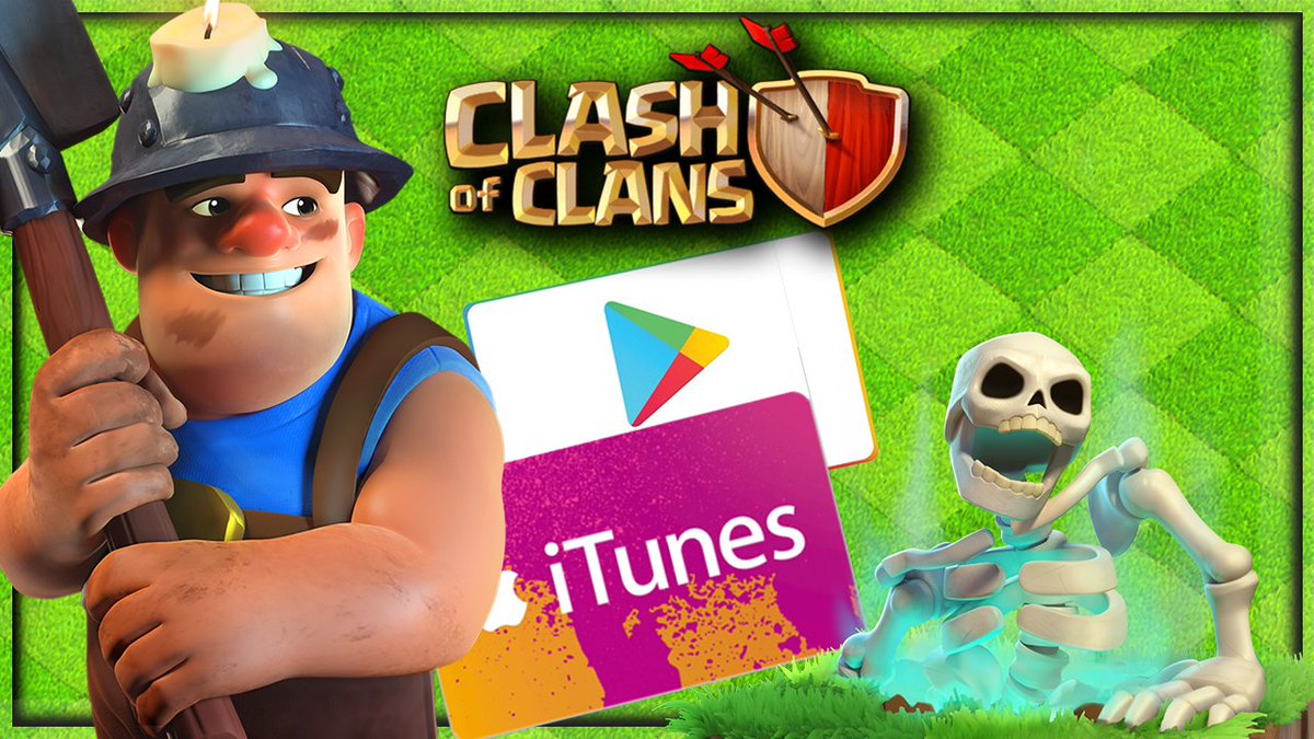💰$20💰 I 'DUG UP' another giveaway! Just: 🔄Retweet, and  ▶️ Tag a fellow Supercell game player! Two $10 winners chosen in 24 hours!  #ClashofClans #UseCodeGaladon https://t.co/ormO8Nr8DD