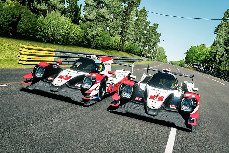ル・マン24時間耐久レース、トヨタが4連覇を達成!
