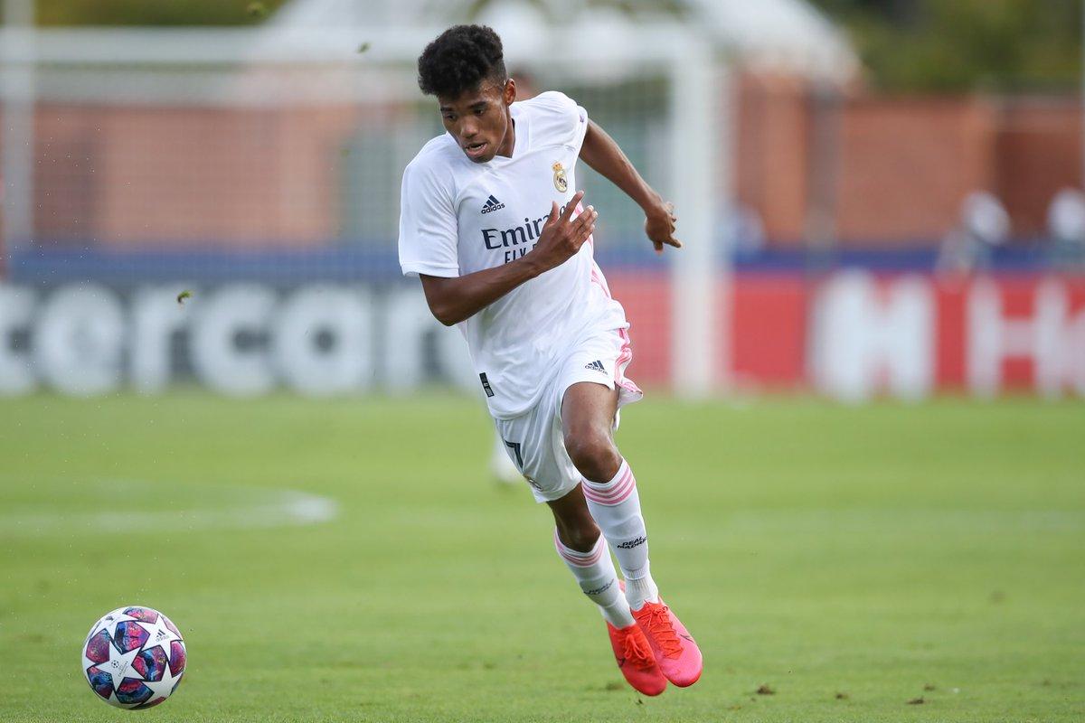 🌟Marvin Park🌟  25 August - helps @lafabricacrm win #UYL 🏆  20 September - makes Liga debut for @realmadrid 👏👏👏👏