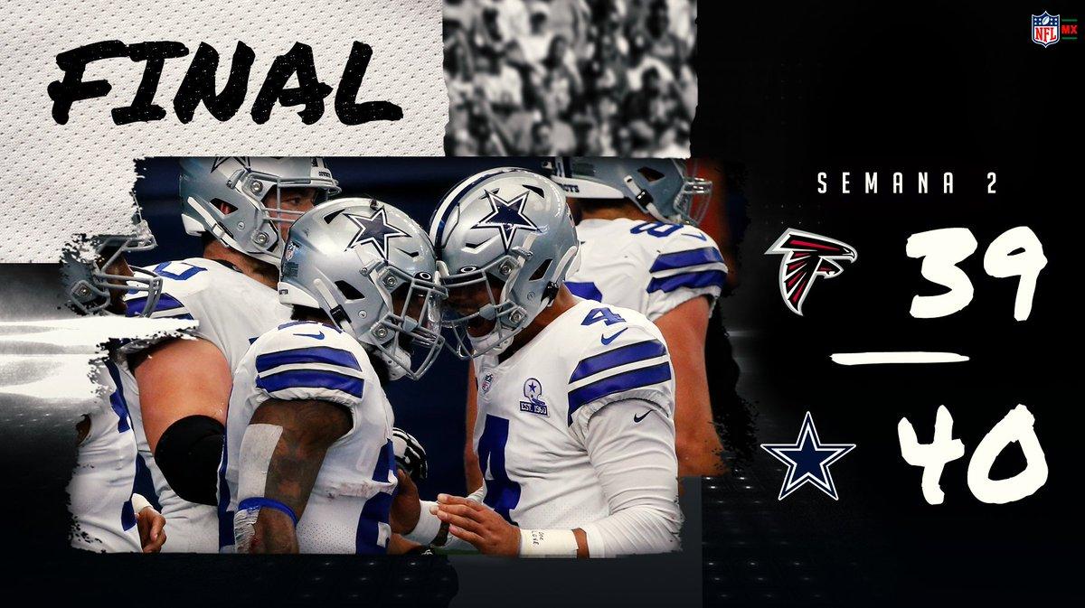 ¡RE-MON-TA-DA ÉPICA! 🤠⭐️ Los equipos especiales se pusieron la capa de super héroe al final del partido y se llevan la victoria los @DallasCowboys #NFLMX #DallasCowboys