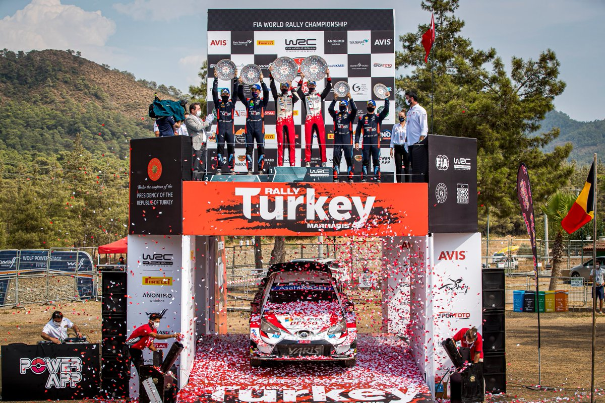 #WRC - Sunday's best pictures from the 2020 @OfficialWRC @rallyturkey 🇹🇷⬇ https://t.co/g7fVROs3YM https://t.co/6swmVZHtLq