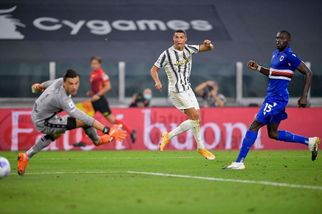 Juventus 3-0 Sampdoria: Ronaldo giúp Pirlo khởi đầu hoàn hảo - ảnh 3.