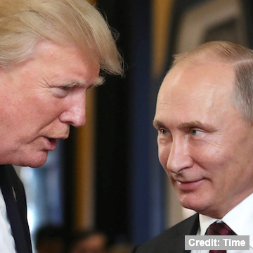 When you vote for #Trump, you vote for #RUSSIA.  Donnie's OWN investigation found Vladimir #Putin's thugs installed Trump into office. The first guest he had @WhiteHouse was the Russian Foreign Minister (behind closed doors, of course).  #TrumpKnew, #TrumpTreason https://t.co/jPniOnilaP